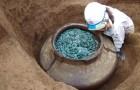 Er is in Japan een enorme pot met 200.000 munten gevonden die eigendom waren van samoerai