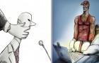 16 illustrations sombres sur les drames de la vie moderne... qui nous concernent tous