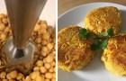 Das sehr einfache Rezept für Kichererbsenburger: Eiweißreich, lecker und mit sehr wenig Kalorien.