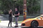 This prank left me a bit 'puzzled...Gold digger woman !