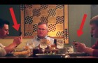 His 2 sons use mobile phones during dinner: the father's reaction is hilarious!