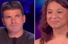 This girl gets the hole X Factor studio on their feet with her incredible performance !!