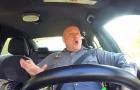 Ponen una video camara en el auto de la policia: el filmato es muy gracioso!