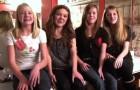 Auch ohne Basis singen diese 4 Mädels einen Klassiker, der euch Gänsehaut machen wird