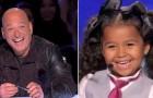 Ela tem só 5 anos, mas conquista o público com sua personalidade, sua voz e... seus pés!