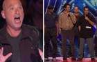 5 papà si mettono sul palco, la loro prima mossa farà urlare il pubblico... Che simpatici!
