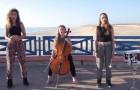 3 filles sur un toit interprète les succès les plus FORTS de l'été 2015... Génial!