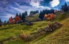 Si sveglia alle 5 del mattino ed esplora le montagne della Transilvania: le sue fotografie tolgono il fiato