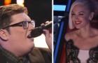 Seine Version von Adeles Song hat die Jury umgehauen. Wow!