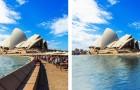 Ces photos nous montrent comment les villes apparaîtront si la température montra encore de 2 degrés