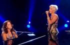 La puissante voix de Pink rencontre la talentueuse Sarah McLachlan dans un duo émouvant