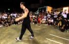 Menininho desafia dançarino de break e simplesmente humilha o grandão