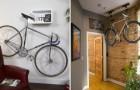 16 soluzioni per sistemare la vostra bici in casa in maniera brillante