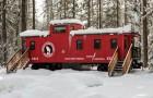 Personne ne voudrait vivre dans un wagon de train, mais attendez de voir l'intérieur.