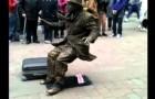 La statua umana più originale
