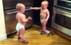 Los gemelos que hablan, son increíbles!