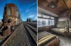 Der letzte Zug des Orient Express: Hier die Reste einer vergangenen aber immernoch faszinierenden Epoche