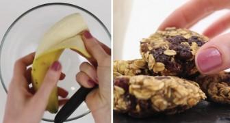 Os biscoitos mais fáceis de fazer: somente dois ingredientes e 15 minutos no forno!