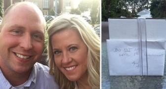 Ein Ehepaar öffnet das Hochzeitsgeschenk einer alten Tante nach 9 Jahren: Der Inhalt ist
