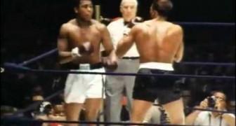 Muhammad Ali - Danza como una mariposa, puños como una abeja!