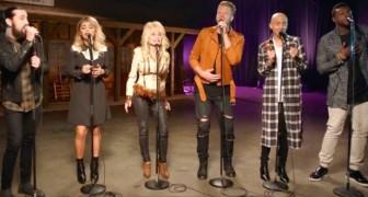 Dolly Parton and Pentatonix create a cappella magic!