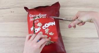 Ti piacciono gli snack in busta? Ecco 3 trucchetti che non puoi non conoscere