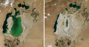 De Verdwijning Van Het Aralmeer Is Een Van De Ergste Milieurampen In De Geschiedenis