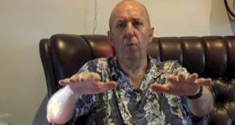Un hombre enfermo de Parkinson muestra el increible efecto de la marihuana sobre su temblor