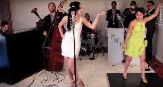 Amazing 1920s transformation of Lady Gaga's song Bad Romance!