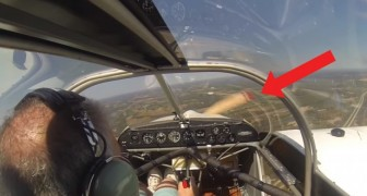 He takes off but something goes terribly WRONG!