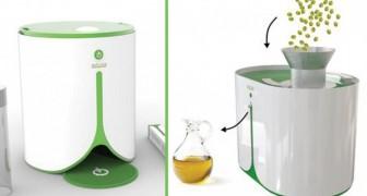 Thuis olie produceren alsof je koffie aan het zetten bent: dit is de mini-oliepers!