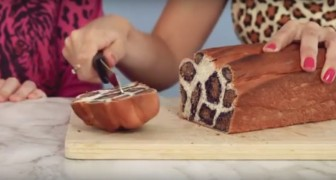 Leopard bread will surprise your guests!