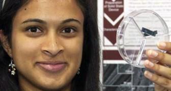 Téléphone rechargé en 20 secondes?Voici l'invention pluri-récompensée d'une jeune fille de 18 ans.