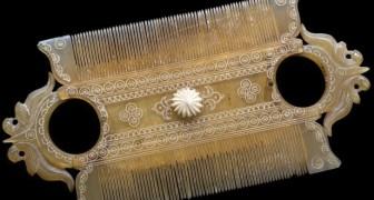 Voici quelques-uns des plus beaux peignes de l'antiquité... dont l'utilité était loin d'être élégante!