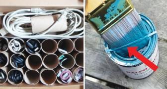 Riciclo intelligente: ecco 20 usi alternativi di oggetti che tutti abbiamo in casa