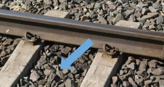 Sai perché i binari del treno sono sempre poggiati sul pietrisco?