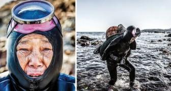 Ecco a voi l'ultima generazione di Sirene, maestre della pesca in apnea