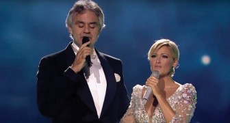 Andrea Bocelli en Helene Fischer: dit duet bezorgt je kippenvel!