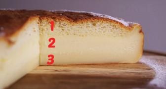 Torta Magica: la receta facilisima con una sorpresa final toda para saborear