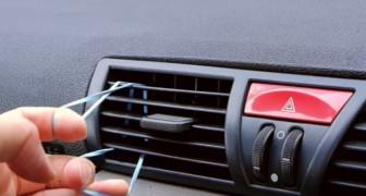 Hij laat een elastiek in de beluchter van een auto passeren en creëert hiermee een accessoire dat jij ook wel zou willen hebben!