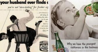 30 Pubblicità degli anni '50 che oggi sarebbero a dir poco da censurare