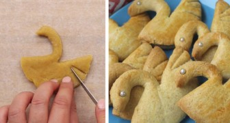 Elegant and delicious --- swan cookies!