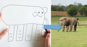 Trasforma i disegni del figlio in realtà: il risultato è un divertimento assicurato