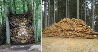 10 personnes qui ont transformé leur bûcher en une œuvre d'art ... Laissez-vous inspirer!