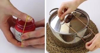 Seis incríveis truques com o elástico que vão te ajudar muito!