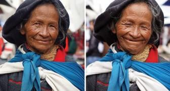 Il voyage pendant deux ans en disant aux femmes qu'elles sont belles: voici leurs expressions avant et après