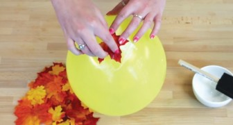 DIY Autumn Leaf Bowl