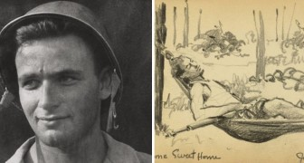 Un giovane soldato con la passione per il disegno: ecco il suo Racconto della seconda guerra mondiale