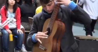 Il chitarrista fenomeno di Sydney