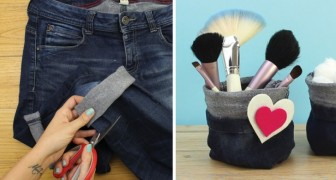 Make an easy multi-use baglike container!